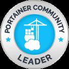 Portainer-community-leader-badge